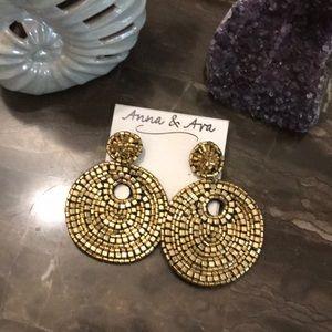 Goddess Earrings, Cleopatra Earrings